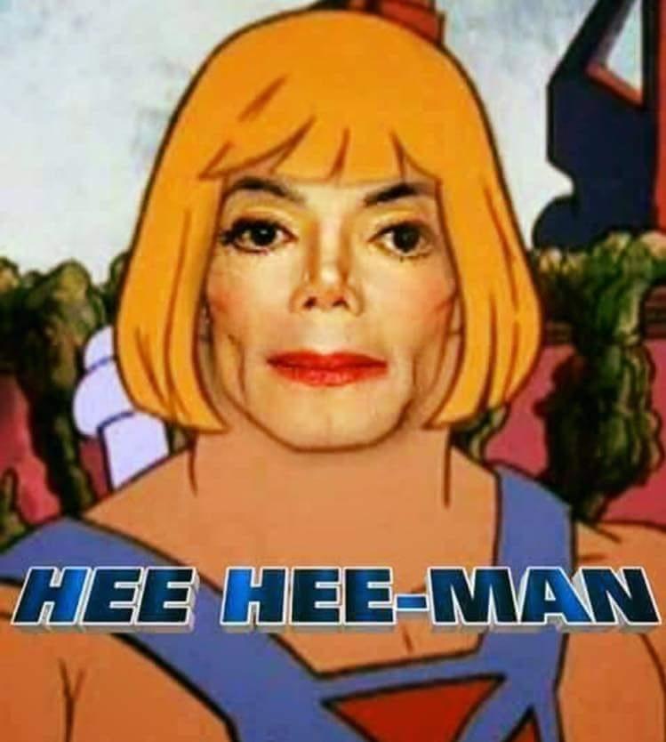 hee hee-man - meme