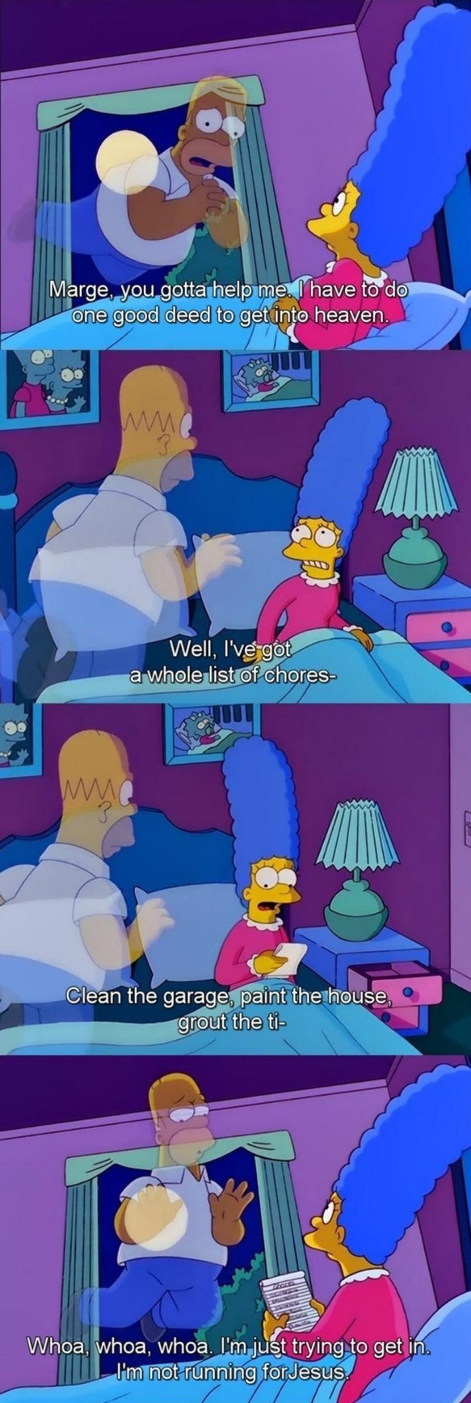 I mean, seriously Marge. C'mon. - meme