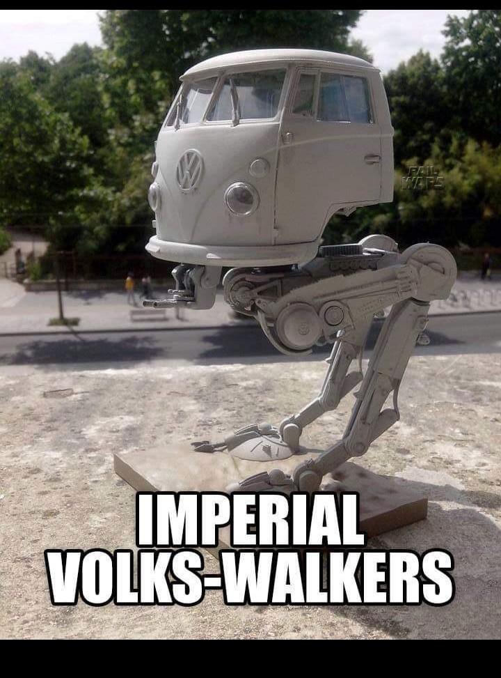 A nova arma do império - meme