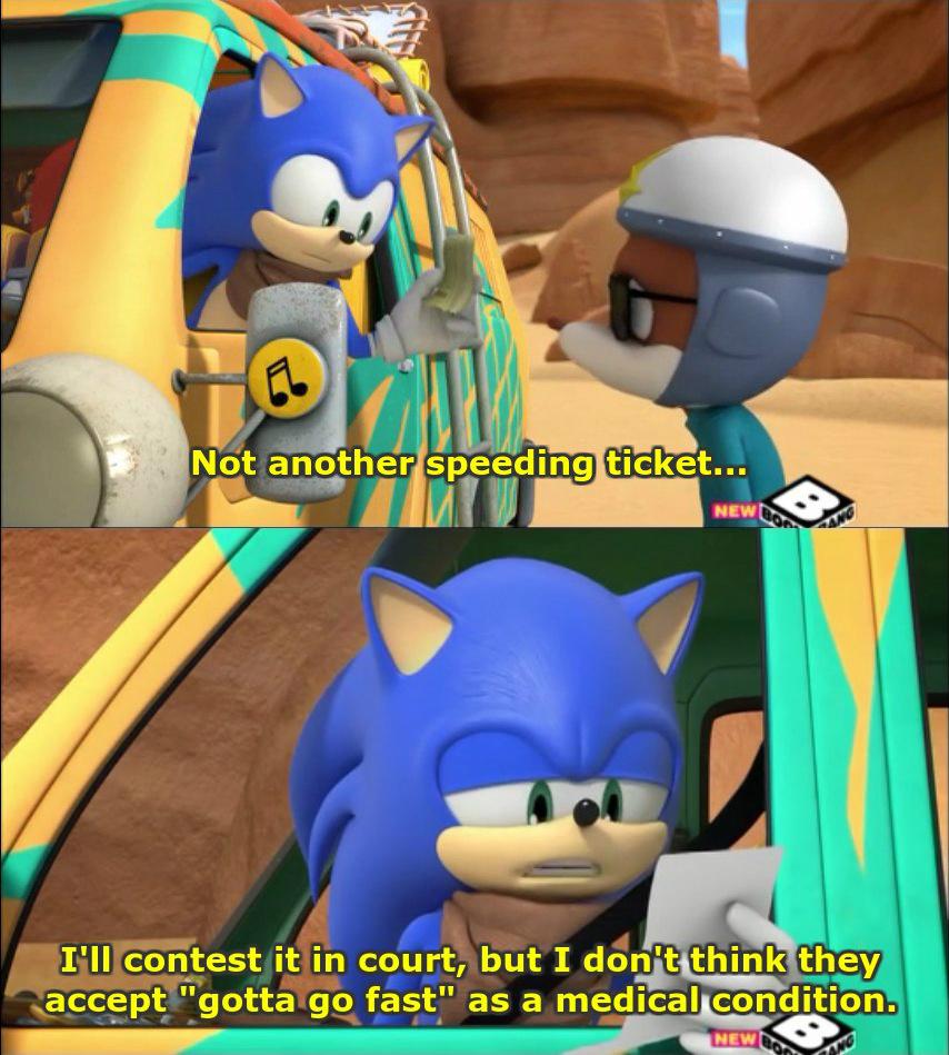 Sonic boom - meme
