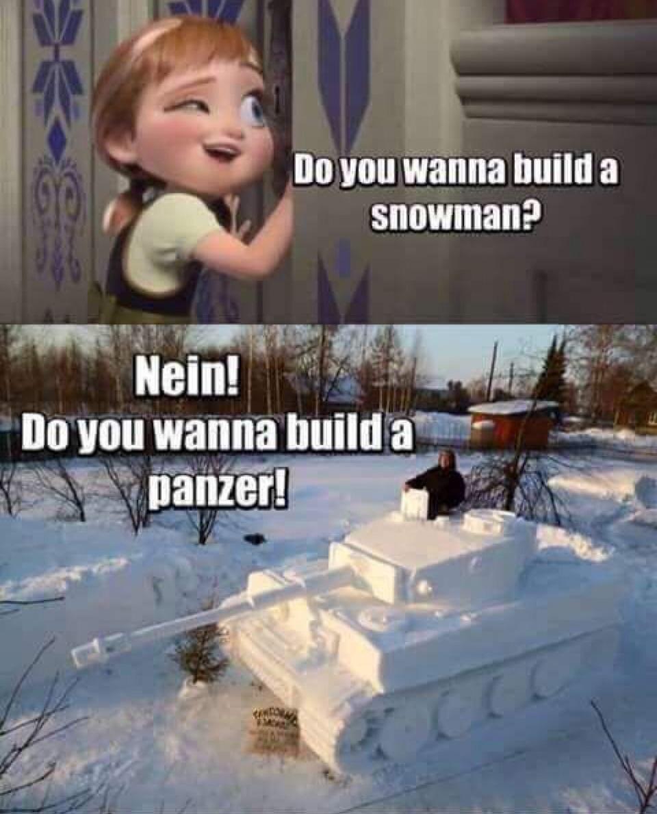 Panzer time - meme