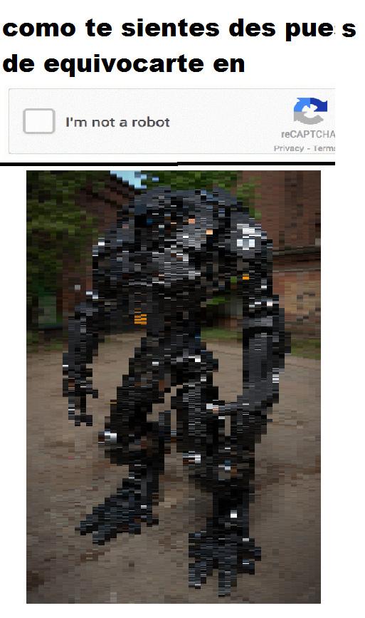 robot - meme