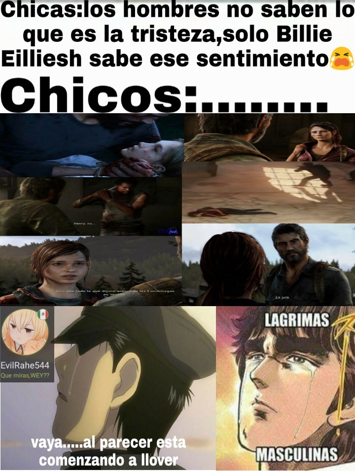 The last of us :,( - meme
