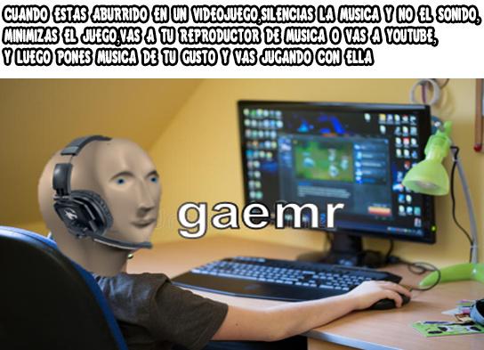 Gaemr (No Se Que Escribir) - meme