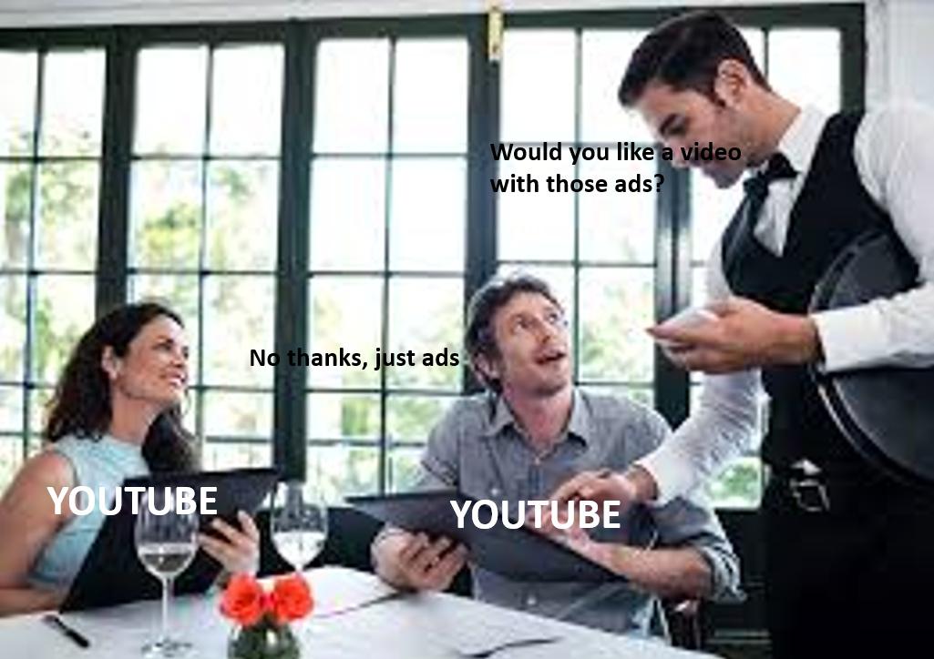 Use an ad blocker - meme