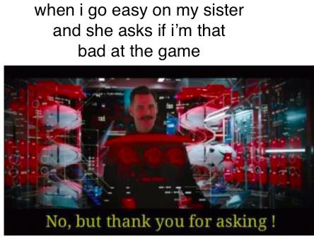 no but thanks - meme