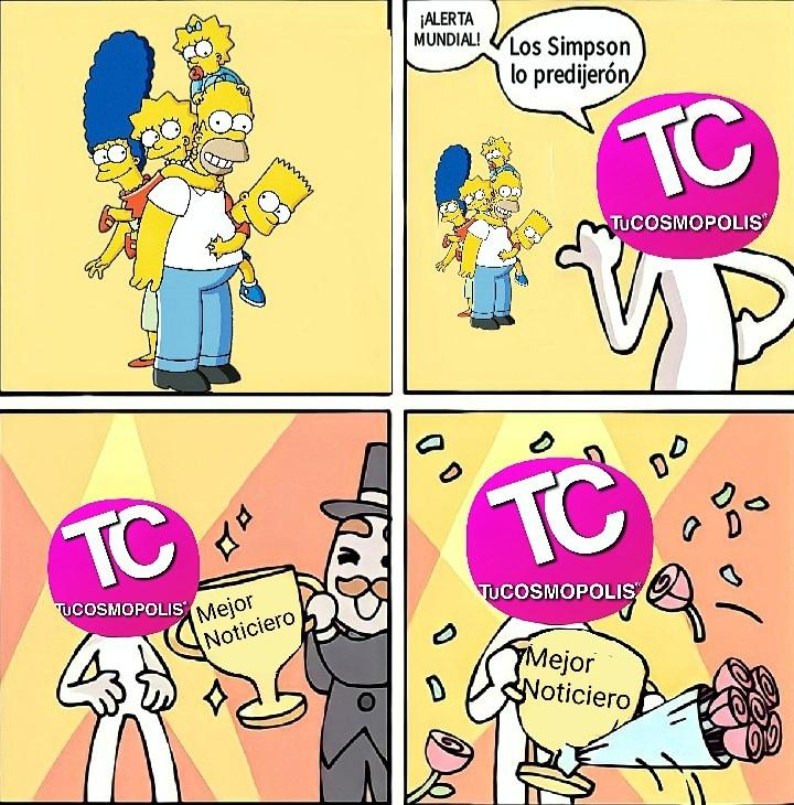 Su Simpson lo peedijerón - meme