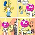 Su Simpson lo peedijerón