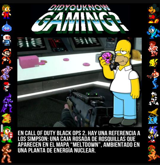 Curiosiddes de videojuegos - meme