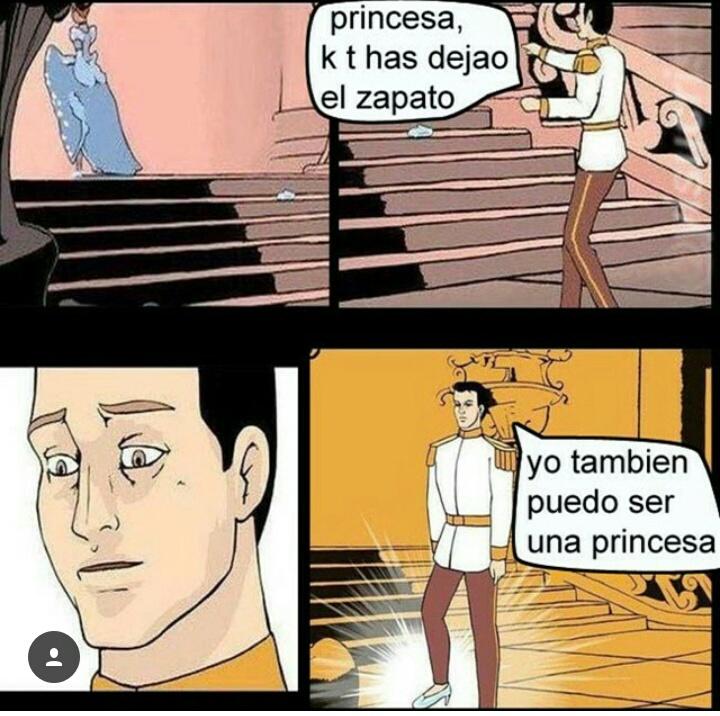 Soy una princesa  - meme