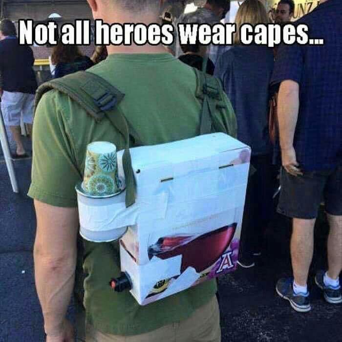 Super hero! - meme