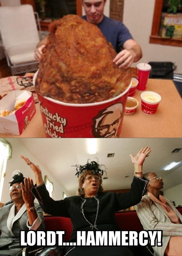 love me some KFC - meme
