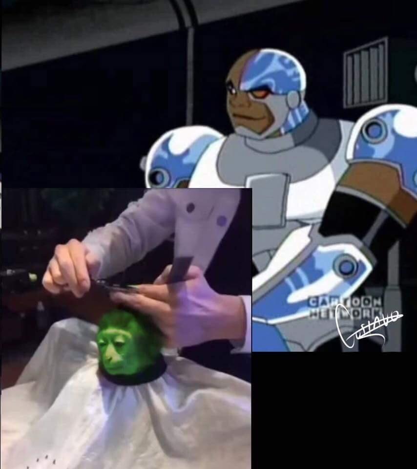 Mutano e Ciborgue - meme