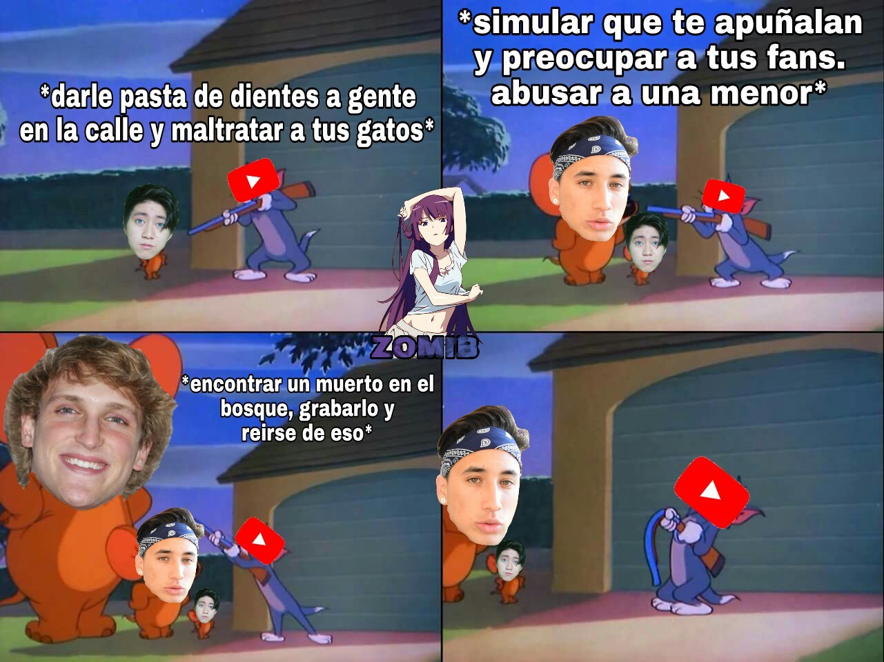Los problemas de youtube XD - meme