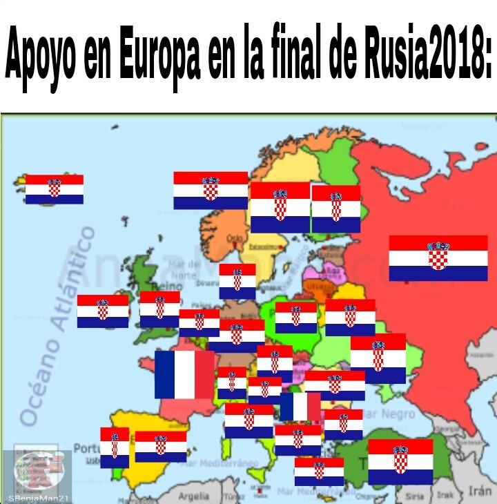 Real o fake? Obviamente Serbia no va a ser el caso - meme