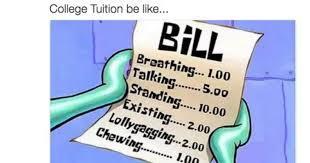 College is fair - meme