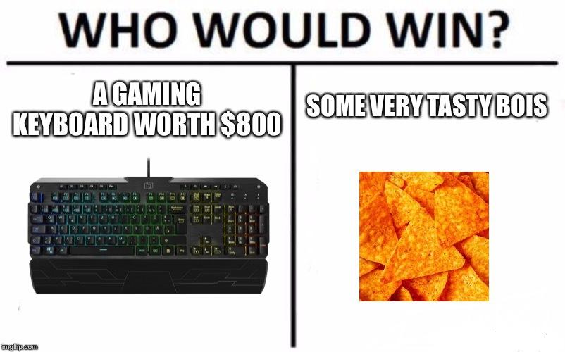Who would win? - meme