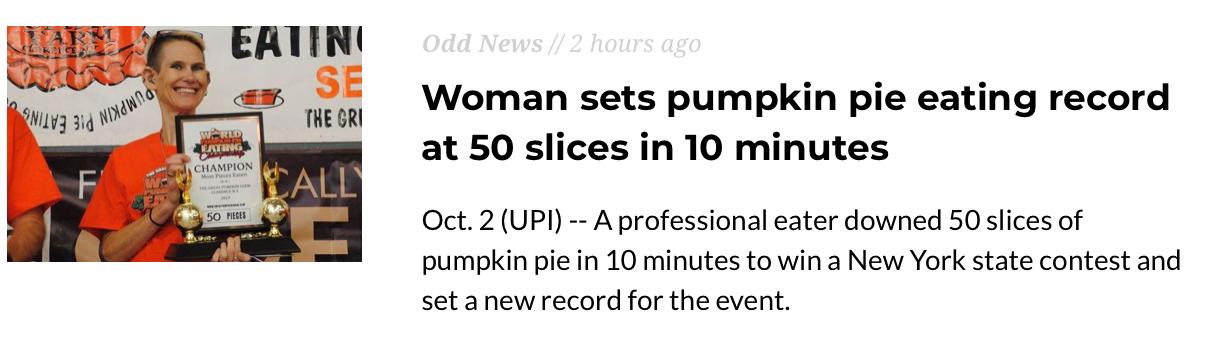 5 slices a minute. Fat ass - meme