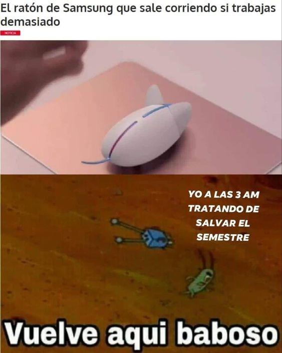 por que me compre ese maldito mouse - meme