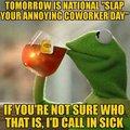 Kermit and tea
