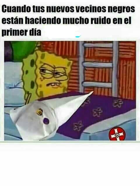 Un poco de humor negro - meme