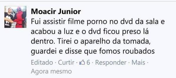 QUEM VE PORNO NO DVD - meme