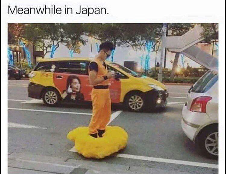 Japan is weird - meme