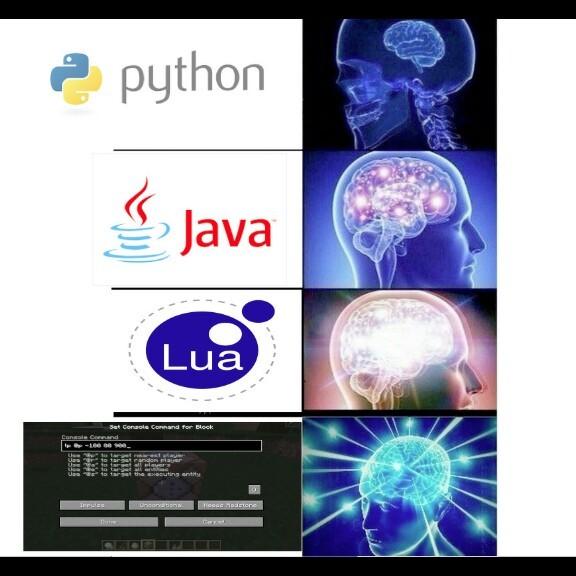 Título foi programar - meme