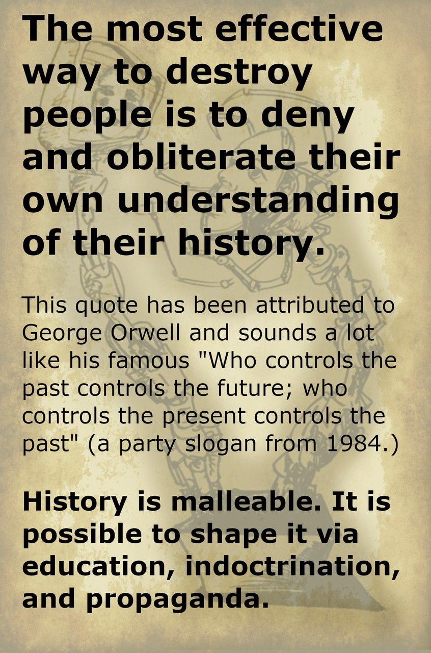 malleable history - meme