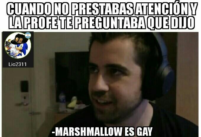 Abduzcan confirma que marshmallo es gay - meme