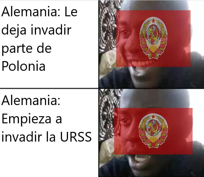 *URSS anthem stops* - meme
