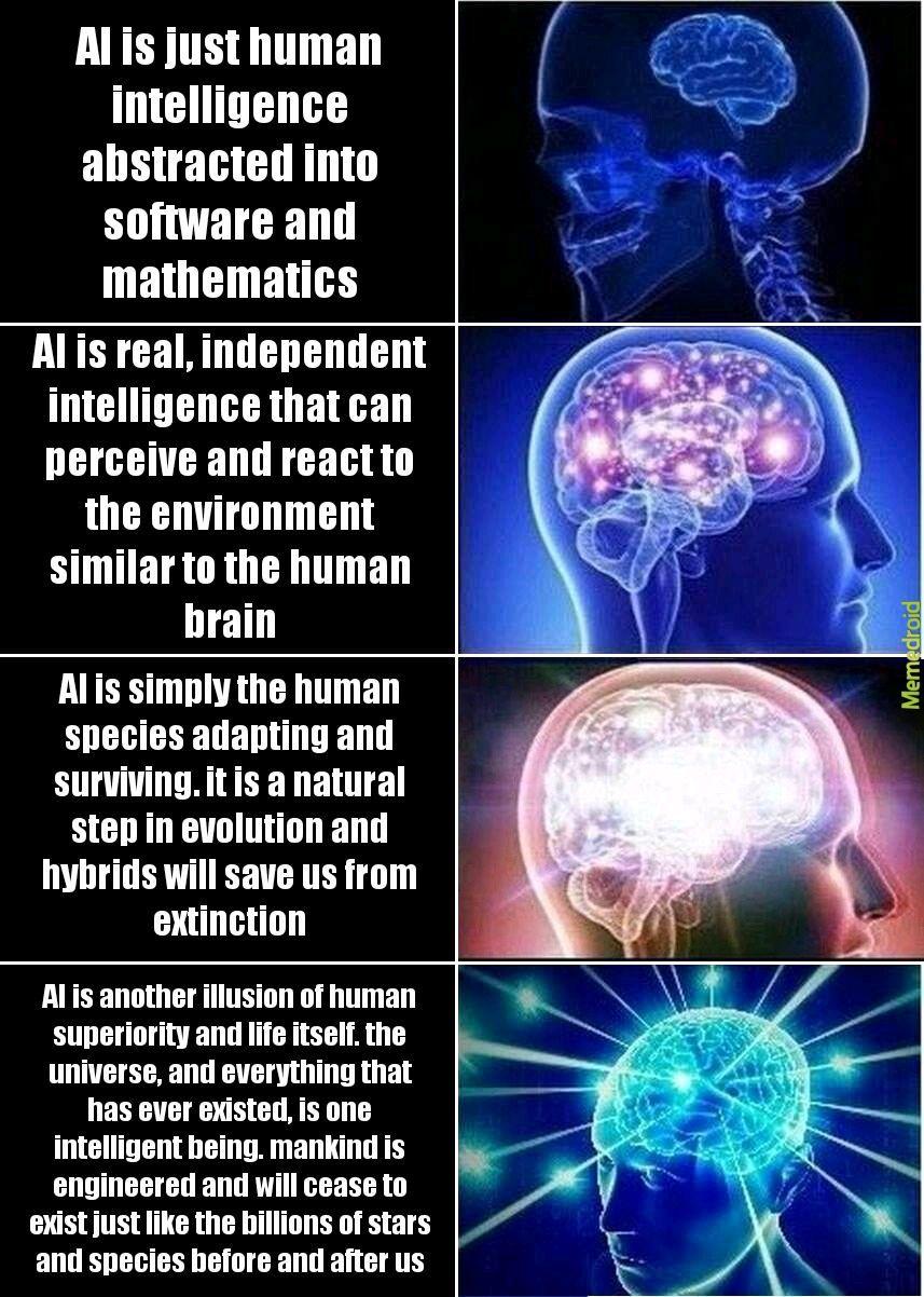 One intelligence - meme