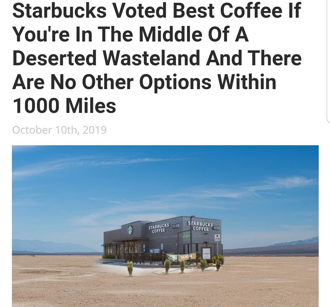 Best coffee (not really) - meme