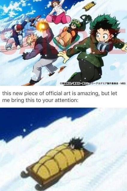 Omg aizawa why?! - meme