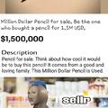 1.5 Million USD pencil