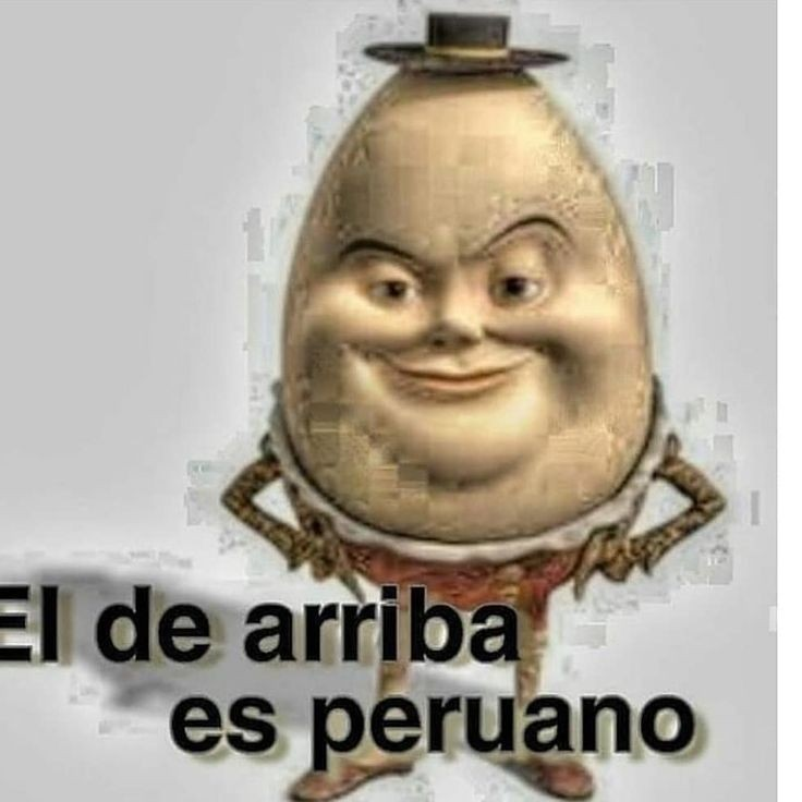 Peruano - meme