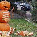 Spooky Pumpkin Man