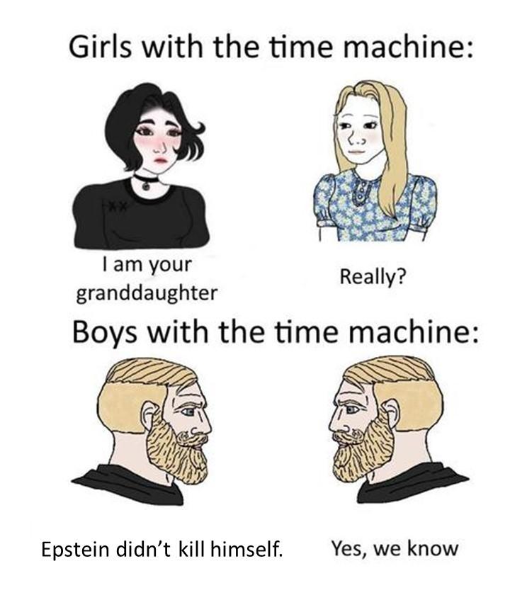 Boys With Time machine Be Like...... - meme