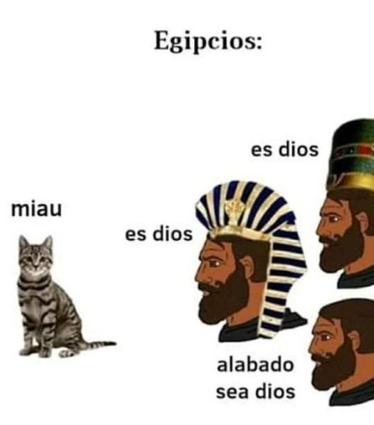 Religiones politeistas - meme