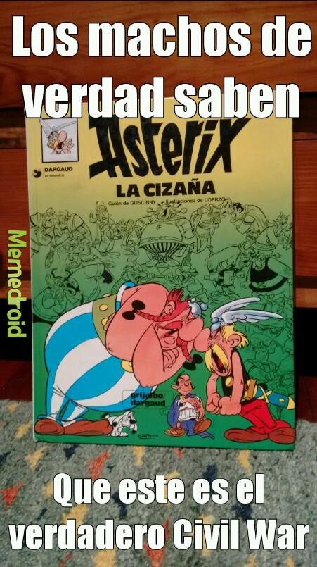 Cizaña War (spoiler: Obélix gana) - meme
