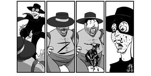 Zorro estripador - meme