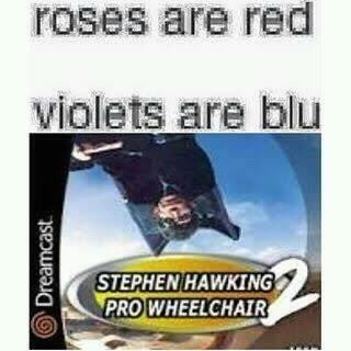 Stephen Hawking has gone pro - meme
