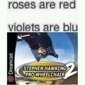 Stephen Hawking has gone pro