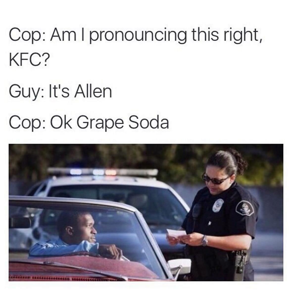 Blacks And Cops - meme