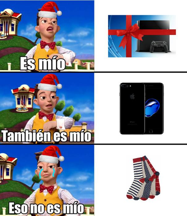 ⛄❄eso es mio :(❄⛄ - meme