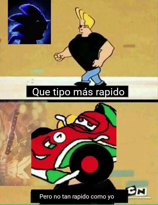 La máquina más rápida de Tote itale - meme