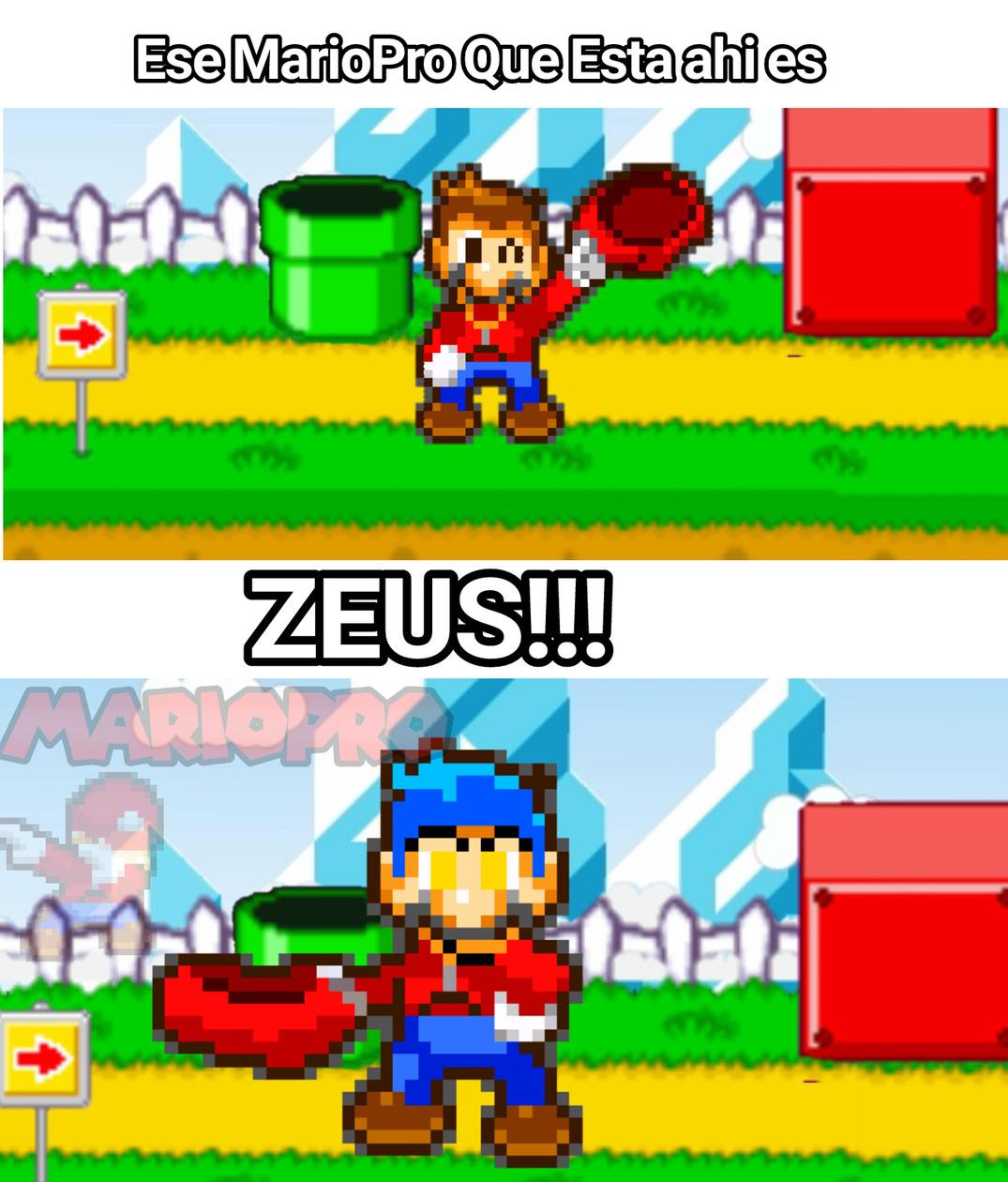 Zeus Con Gorrita y sueter c: - meme