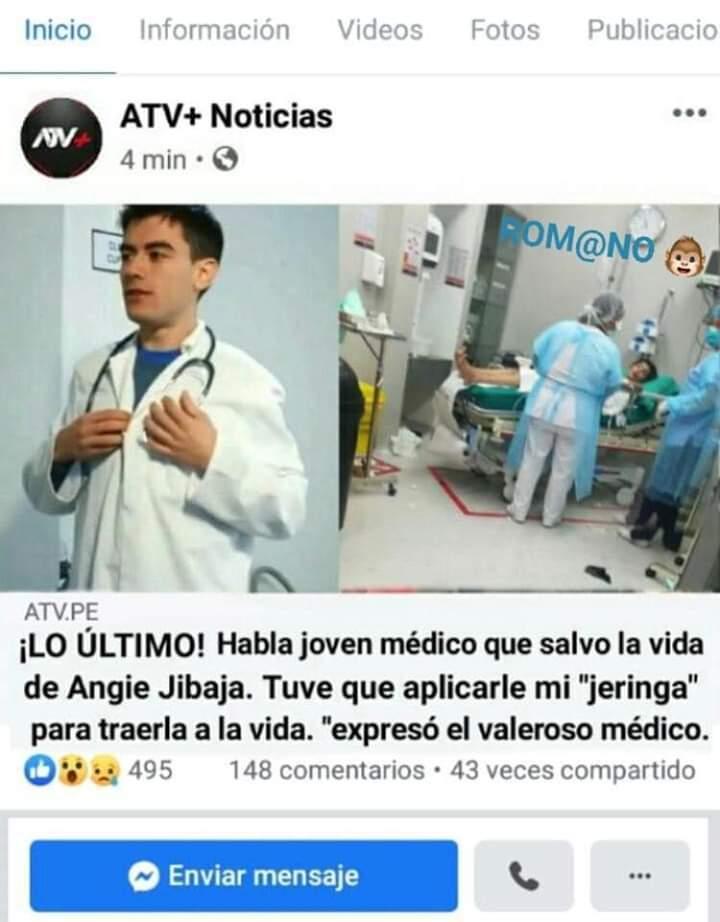 Noticia peruana *-* - meme