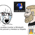 Primer meme de Virgin VS chad, disfruten :happy: