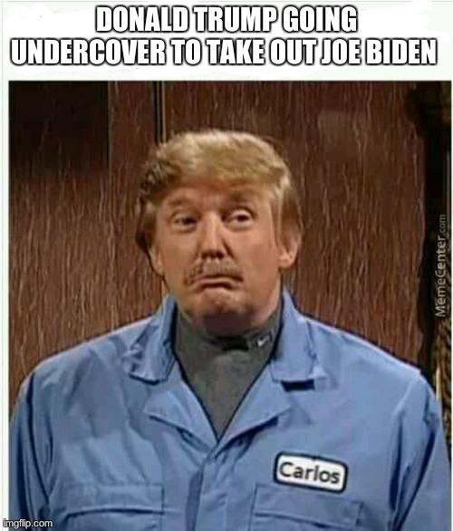 Sénor Trump undercover - meme